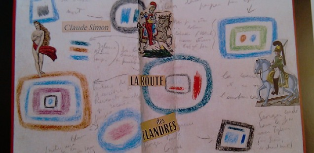 La Route des Flandres (collage) (2001)